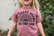 Load image into Gallery viewer, Good Time Gang Toddler Tee *More Colors*