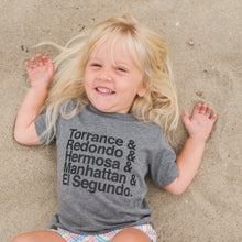 Load image into Gallery viewer, Beach Cities Lineup Toddler Tee