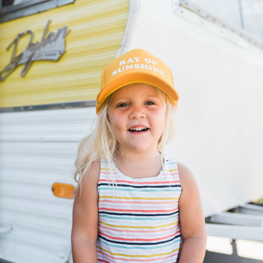 Ray of Sunshine Youth Trucker Hat