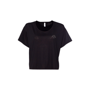 Wave Tee Women's Boxy Crop