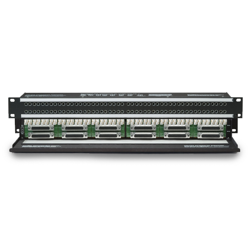 Mini Shorti to DB25 (SubD) Quick-Switch™ Patchbays