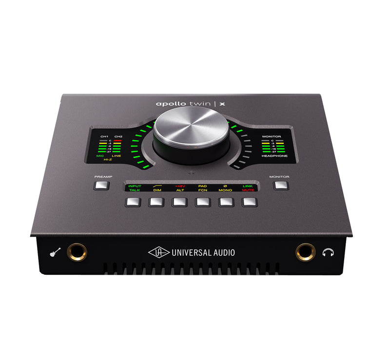 Universal Audio Apollo Twin X QUAD Heritage (demora ligera)