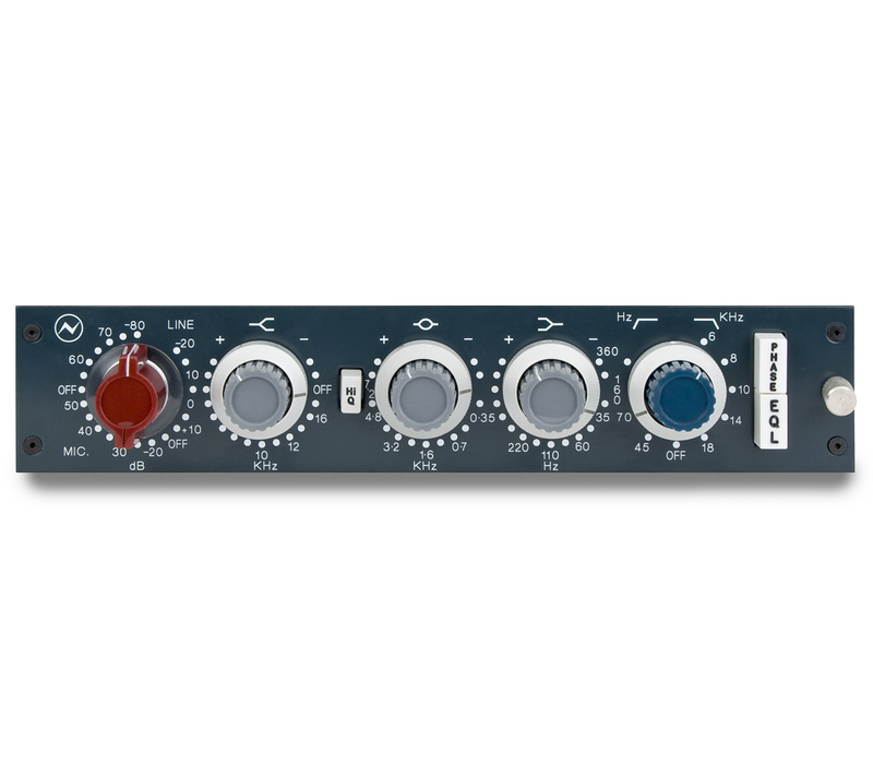 Neve 1084 Classic MicPreamp & EQ