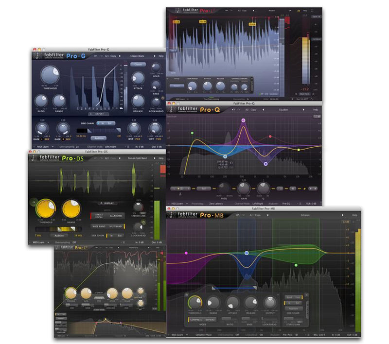 FabFilter Pro Bundle - Academic Version