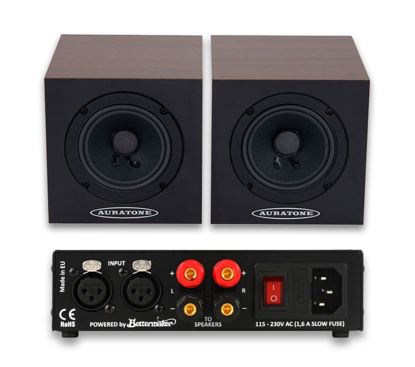 5C Super Sound Cube Cherry + Amp (par activo)
