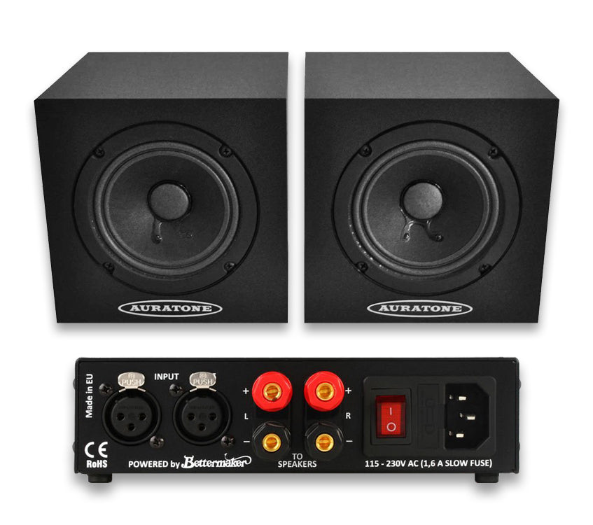 5C Super Sound Cube Black + Amp (par activo)