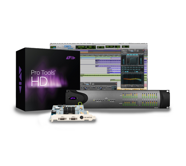 Paquete Avid HD Native + Pro Tools HD + I/O