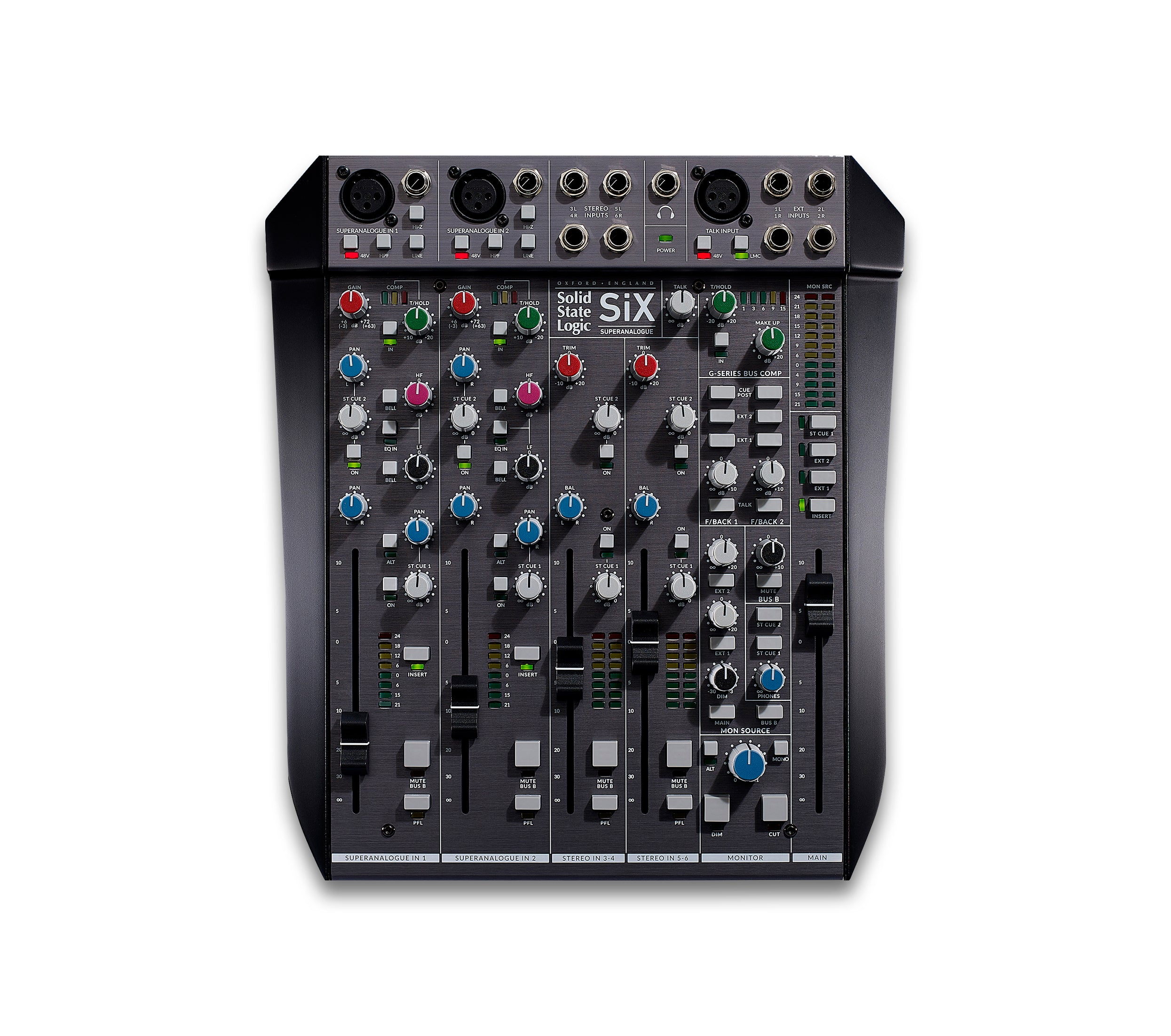 SSL Launch Six Desktop Mixer