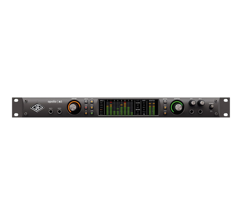 Universal Audio Apollo X6 16x22 Heritage Edition Thunderbolt 3 (demora ligera)