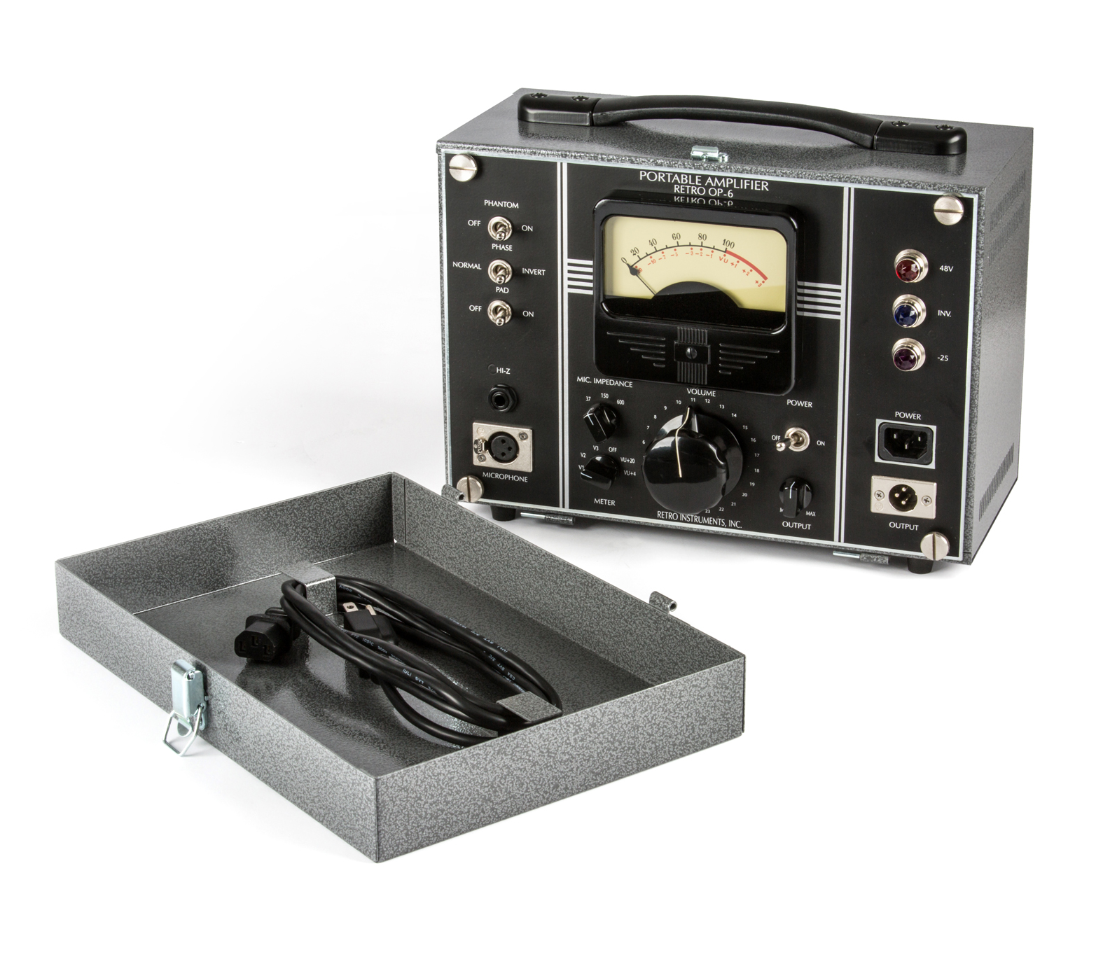 OP-6 Portable Amplifier