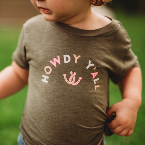 Howdy Y'all Baby Toddler Tee