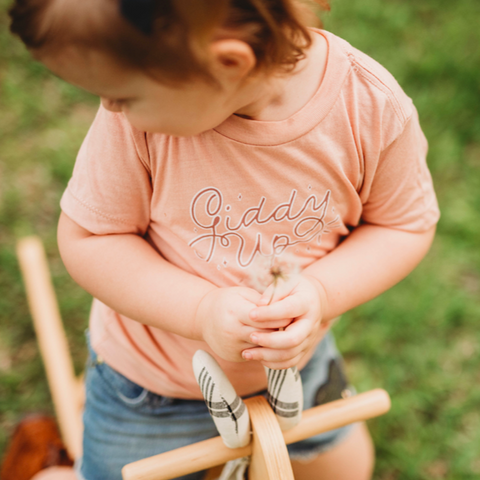 Giddy Up Baby Toddler Tee
