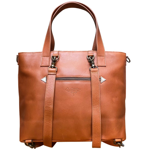 Indy Carryall - Brindle Saddle