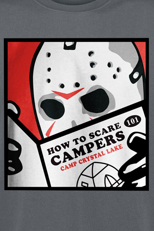 How to Scare- Jason Voorhess Shirt