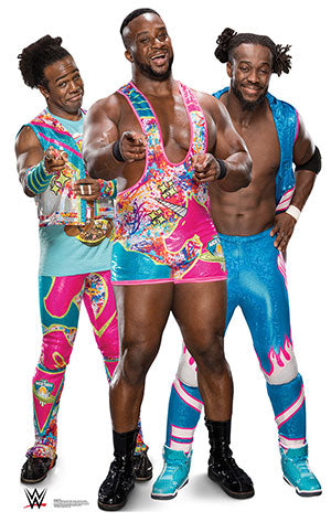 New Day - Big E-Kofi-Xavier- WWE - Lifesize Cardboard Cutout