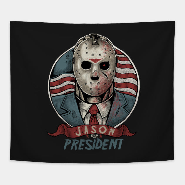Jason For President- Jason Voorhees shirt