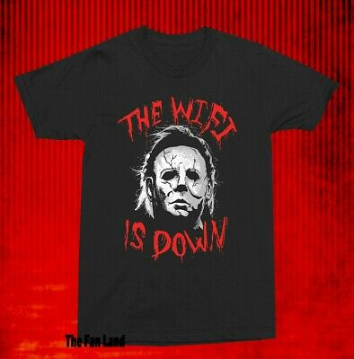 The Wifi is Down- Michael Myers Shirt