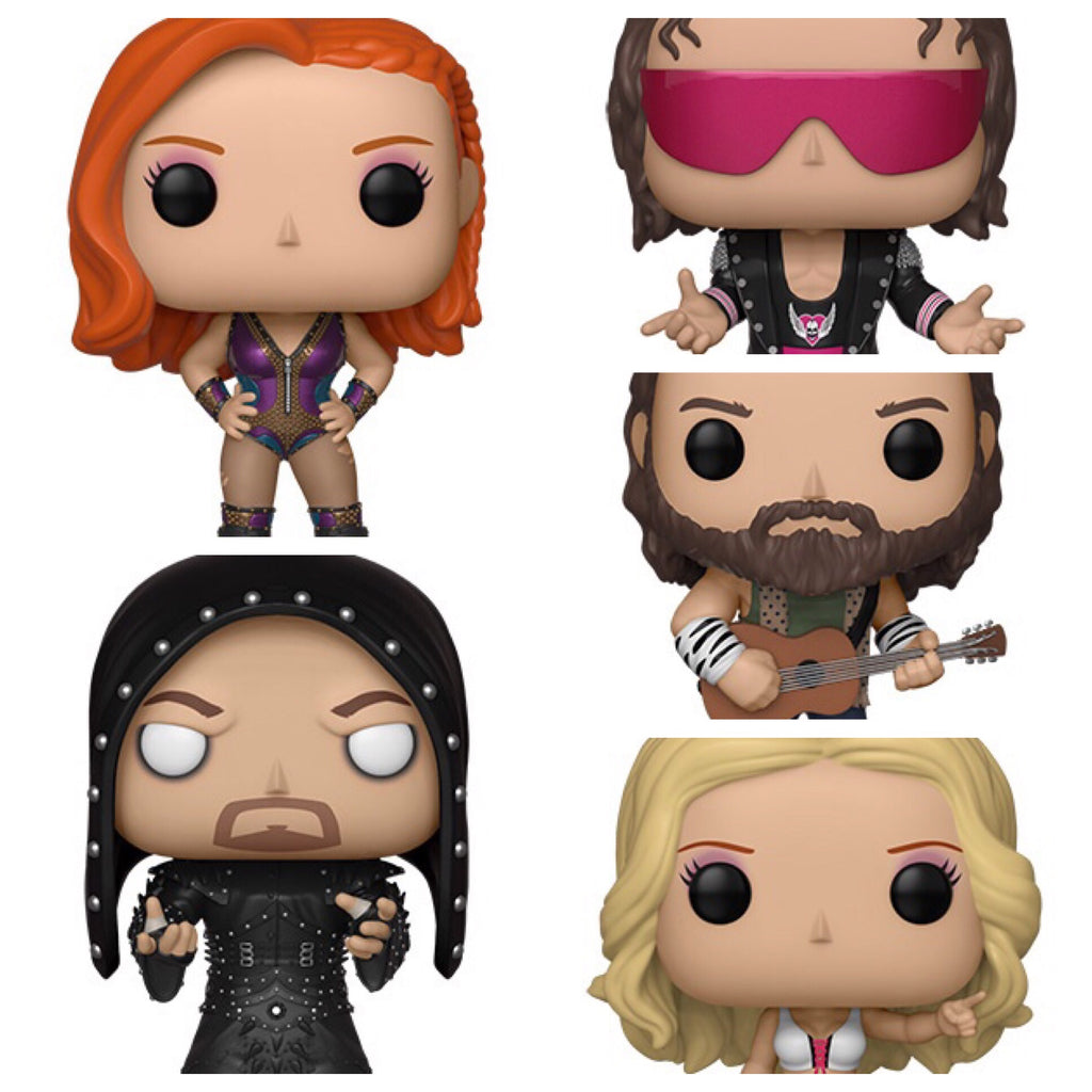WWE Funko Pop! Full set Pre - order