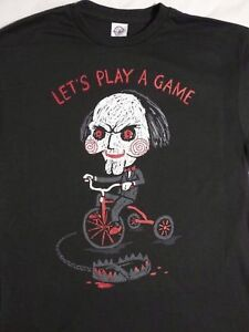 Lets Play A Game- Saw Shirt