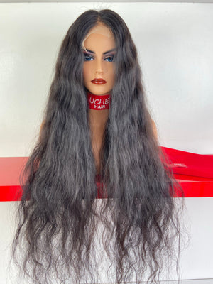 ROLLS ROYCE  Lace Front raw indian hair wig