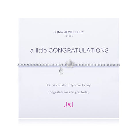 'A Little Congratulations' Joma Bracelet