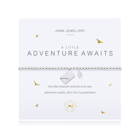 'A Little Adventure Awaits' Joma Bracelet