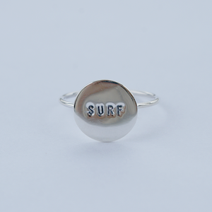 Silver Surf Ring