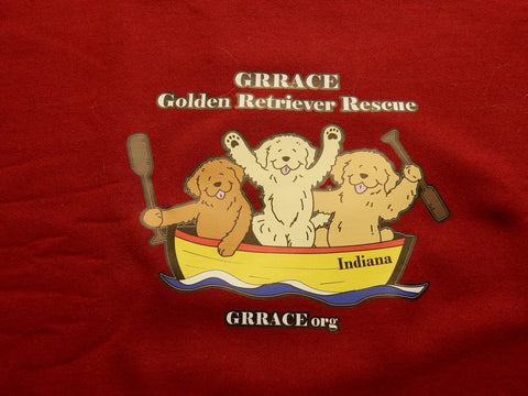 GRRACE Golden Retriever Lifeboat Sweatshirt