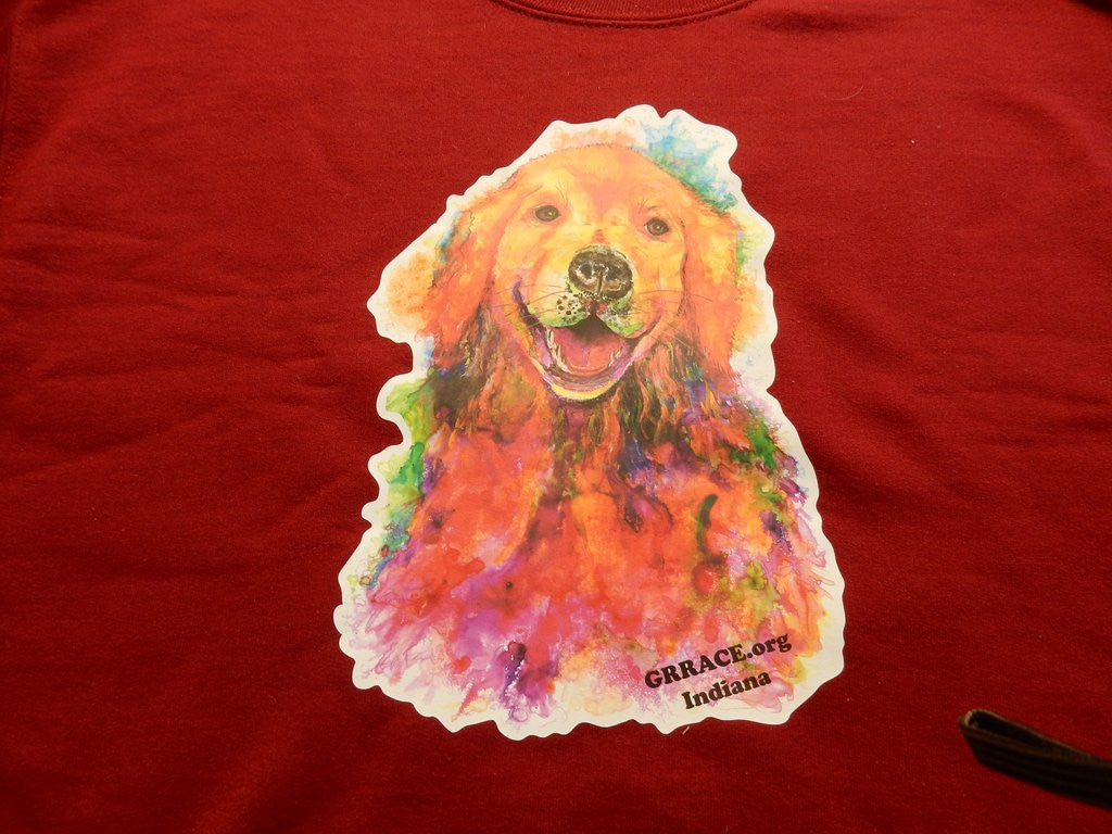 SALE! GRRACE Golden Retriever by Ellen Brenneman Sweatshirt