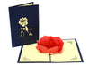 Miniwings Rose Flower Card - Miniwings
