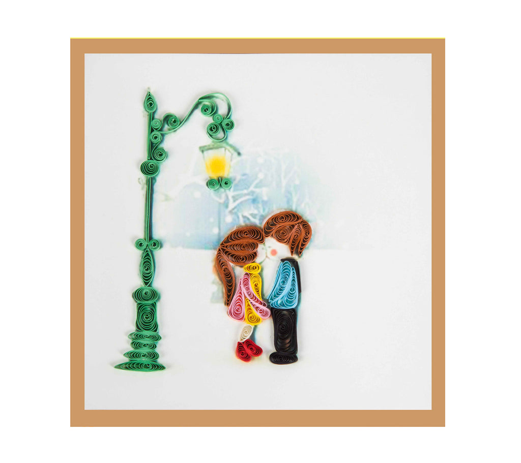 Miniwings Handmade Sweet couple Card