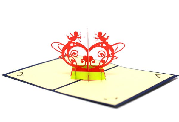 Miniwings Cupid Arrow Pop-up Card - Miniwings