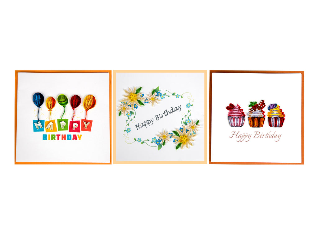 2017 Miniwings Paper Quilling Cards Pack 1 - Miniwings