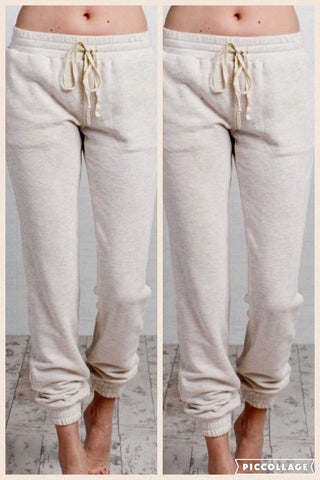 Jr. OatMeal Cozy Jogger Sweat Pants Easel