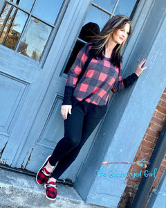 Plaid All Day Buffalo Plaid Tunic