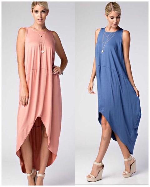 Staple Style Essential Chic Bubble Maxi Dress