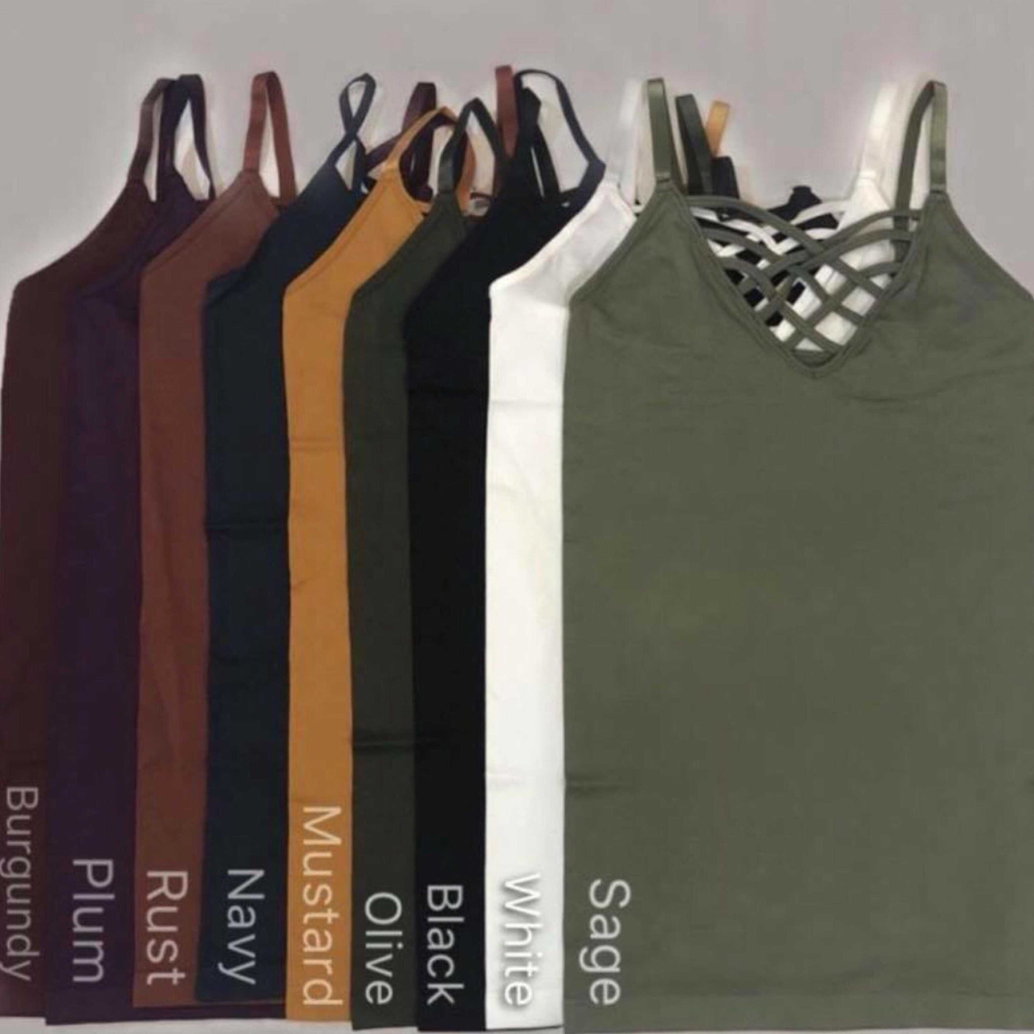 Chelsea Strappy Cami Tops