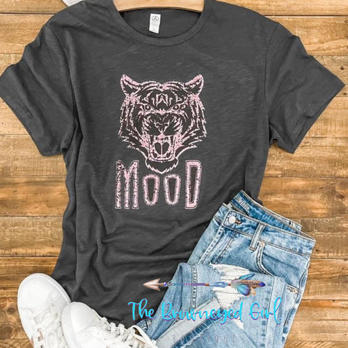 What's Your Tiger Mood Graphic Tee Unisex Fit