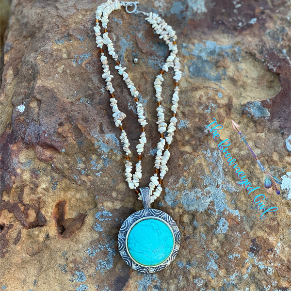 Turquoise Haven Sterling Silver Necklace