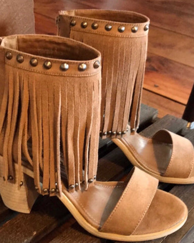 Very Volatile Lux Fringe Dress Sandals