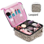 Leopard Make Up Cosmetic Case Bag