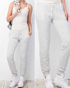 Soft Cozy Oatmeal Joggers Pairs Just About Any Casual Top