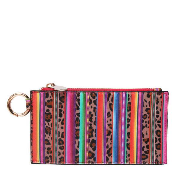 Over Sized Bangle Key Chain With Wallet