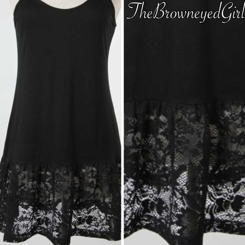 Vintage Lace Tank Cami Extender - TheBrownEyedGirl Boutique