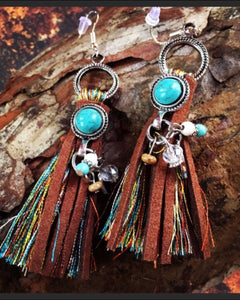 Look Twice Hand Made Boho Earrings