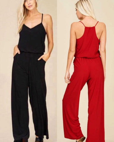 Racer Back JumpSuit Women's