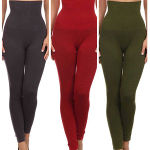Yelete Live In High Waisted High Compression Tummy Control Leggings Plus