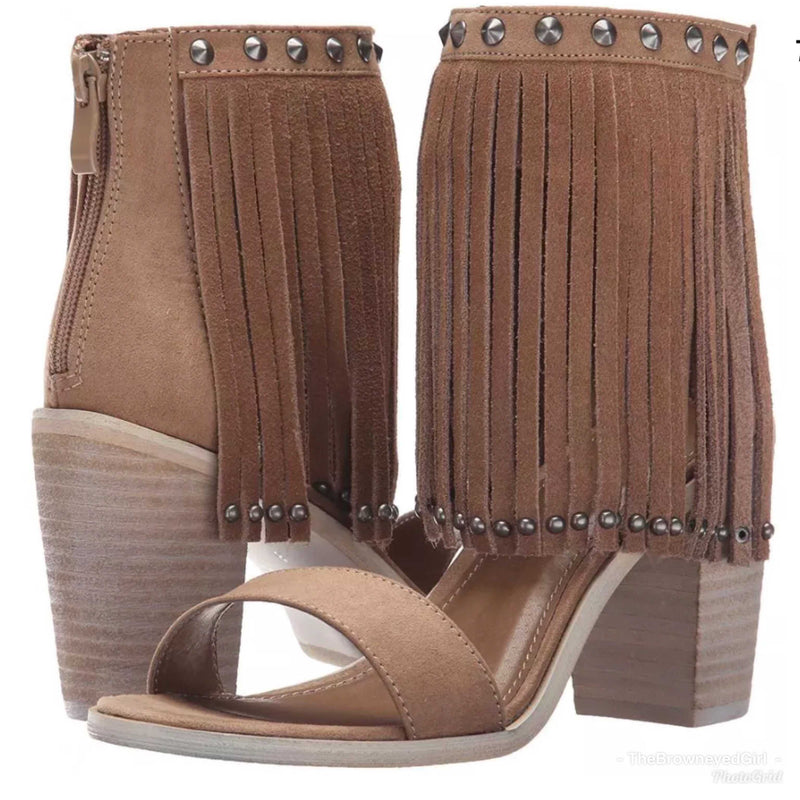 Very Volatile Lux Fringe Dress Sandals - TheBrownEyedGirl Boutique