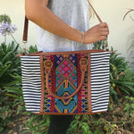 Aztec Embroidered Purse - TheBrownEyedGirl Boutique