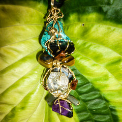 Crystal Healing Jewelry by Gianina Crystal Talismans